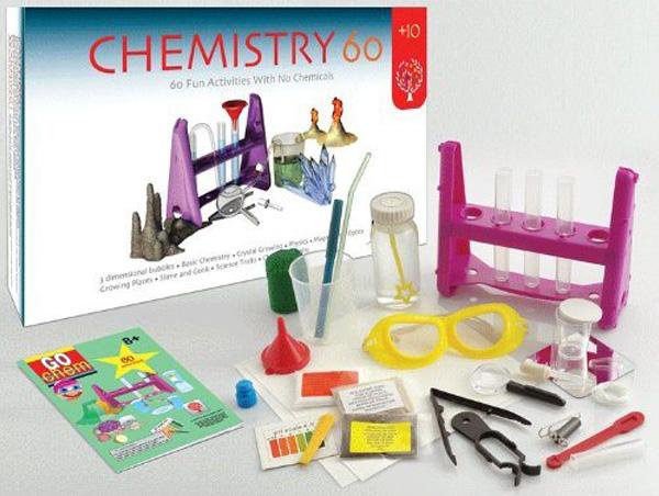 Química e Derivados, Brinquedo, Kit Química