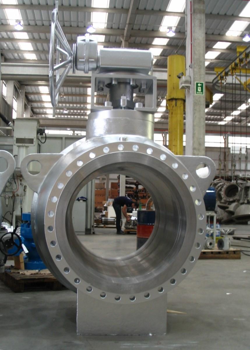 Química e Derivados, Válvula de esfera para setor de óleo e gás, da KSB
